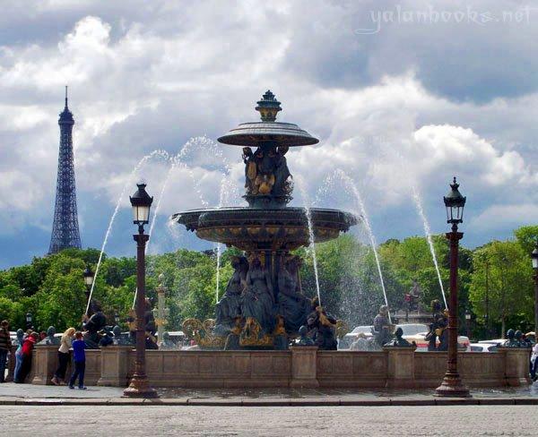 Paris Place de la Concorde Photography Views Romanticism 巴黎 协和广场 风光摄影 浪漫主义 Yalan雅岚 黑摄会